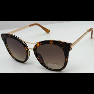 Guess Round Cat Eye Sunglasses